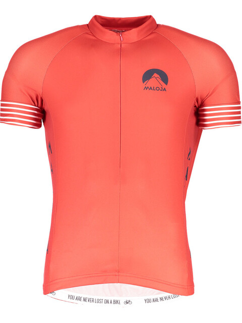 Maloja LagalbM. Bike Jersey Shortsleeve Men red